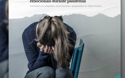 Especialista ajuda pessoas com problemas emocionais durante pandemia