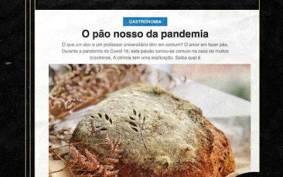 O pão nosso da pandemia