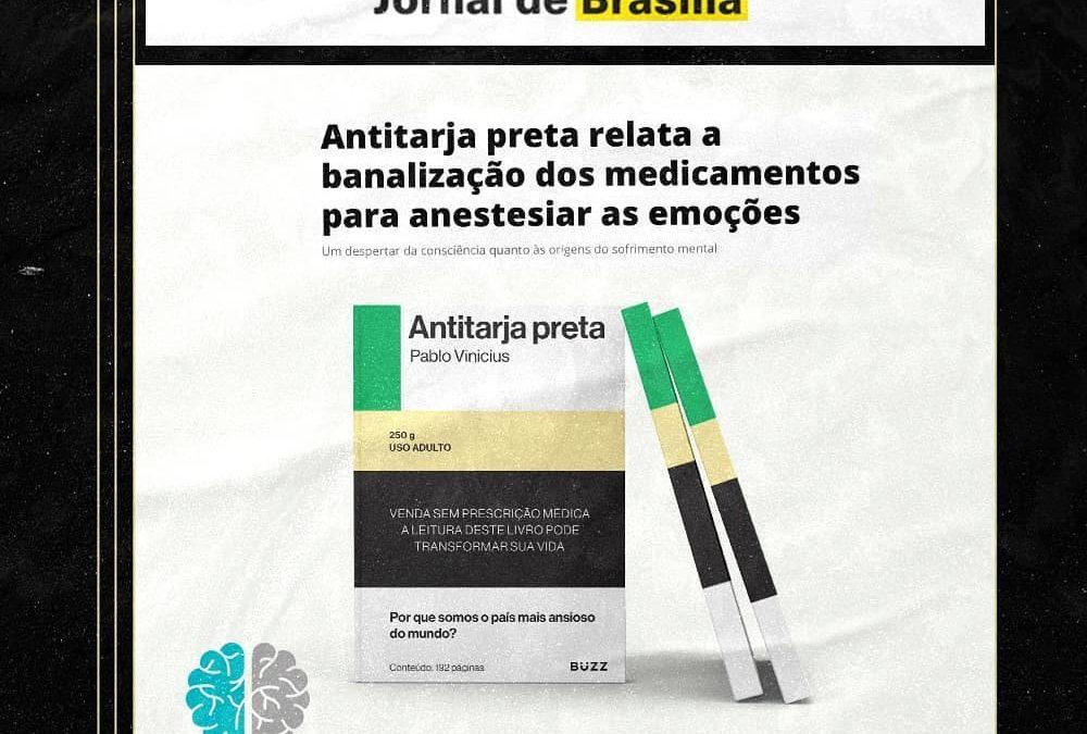 Antitarja preta relata a banalização dos medicamentos para anestesiar as emoções